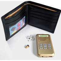 Mini walkie talkie wallet RX/ induction module + 218 micspy earpiece