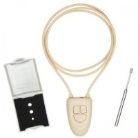 3.5 watt amplified bluetooth induction neckloop with magnetic earpiece