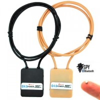 4w Bluetooth induction neckloop with magnetic invisible earpiece