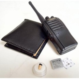 walkie talkie + wallet receiver + 218 earpiece