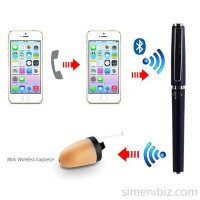 Bluetooth Helper Pen For Micro Earpiece